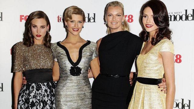 کلسی مارتینوویچ (چپ) فکر میکرد برنده جایزه بهترین سوپر مدل بعدی استرالیا شده است