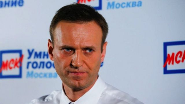 Jailed Kremlin critic Alexei Navalny