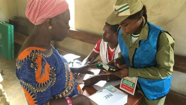 Voting don start for some polling units for di Ekiti state govnorship election.