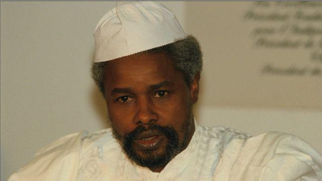 Hissène Habré, ancien président du Tchad