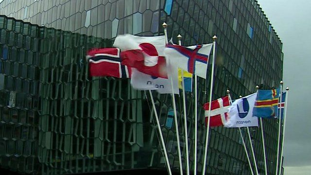 Flags of Scandinavian nations and people