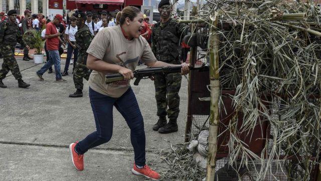 Entrenamiento a civiles