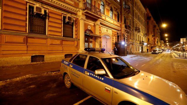 サンクトペテルブルクの米領事館