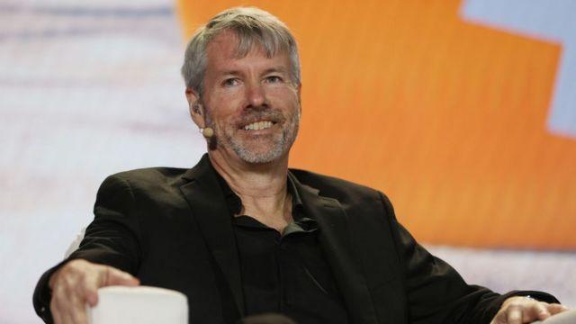 Michael Saylor, CEO da MicroStrategy