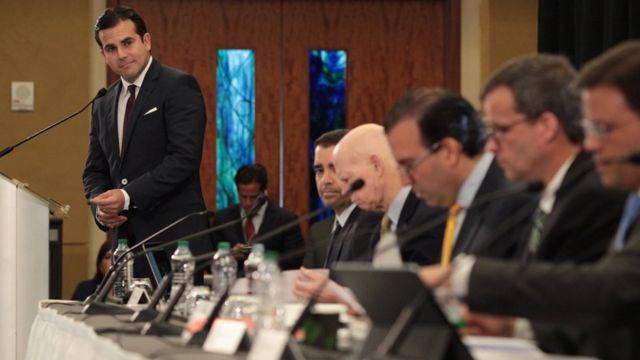 El gobernador Rosselló y la Junta de Supervisión Financiera