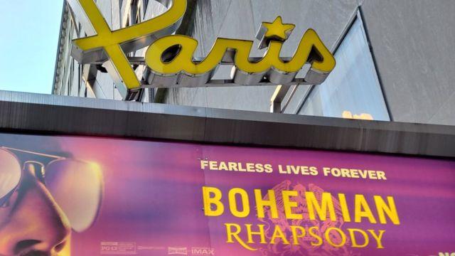 Cine de Nueva York en el que exhiben Bohemian Rhapsody
