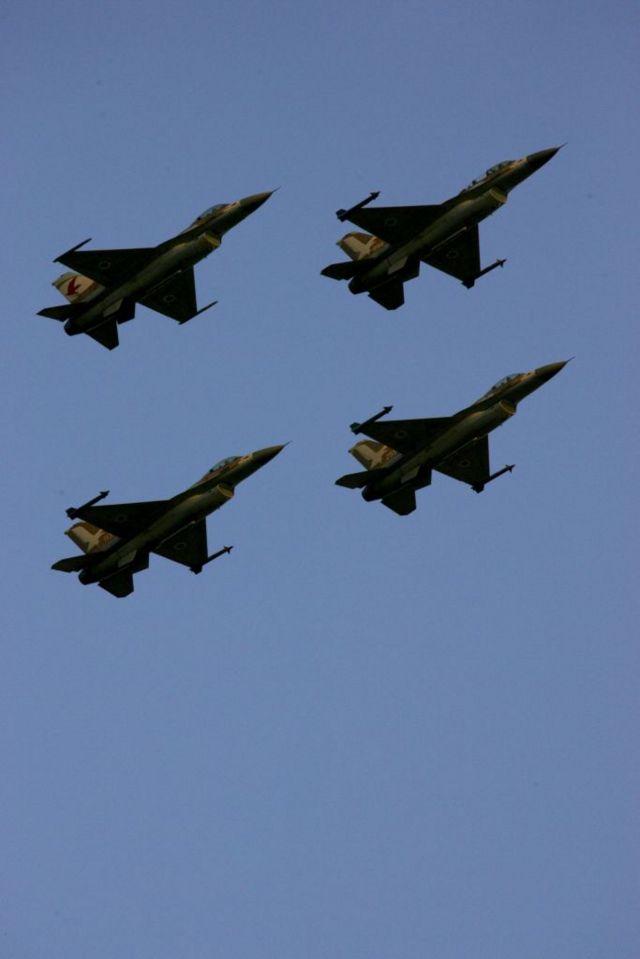 واحدة من بين هذه الطائرات شاركت في قصف مفاعل تموز