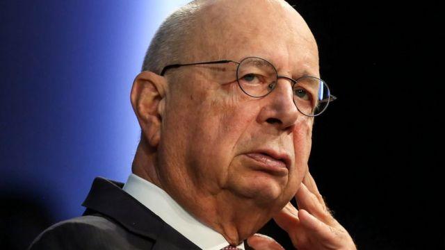El, fundador y presidente ejecutivo del Foro de Davos