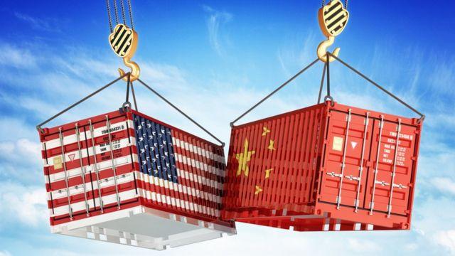 Ilustración guerra comercial