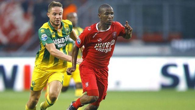 Le sud-africain Kamohelo Mokotjo a marqué le 4ème et dernier but de Twente face à Ado Den Haag (victoire 4-1)