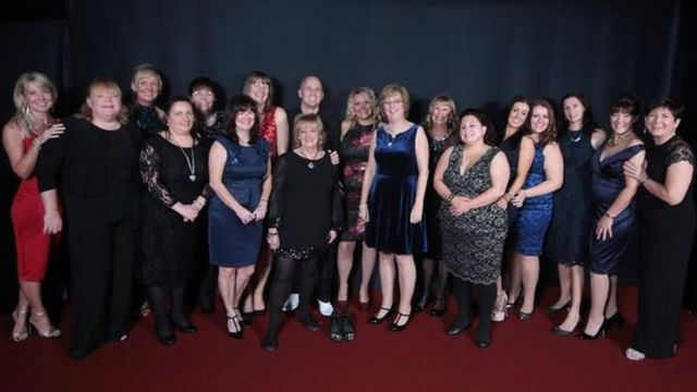 Royal Glamorgan Hospital nurses' last Christmas party saved