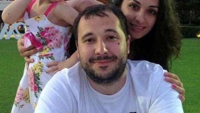 Роман Селезнев с семьей