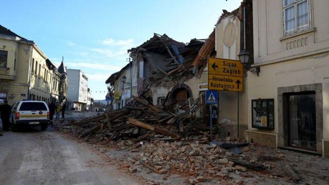Хорватію трясе четвертий день поспіль: у центральній частині стався новий землетрус