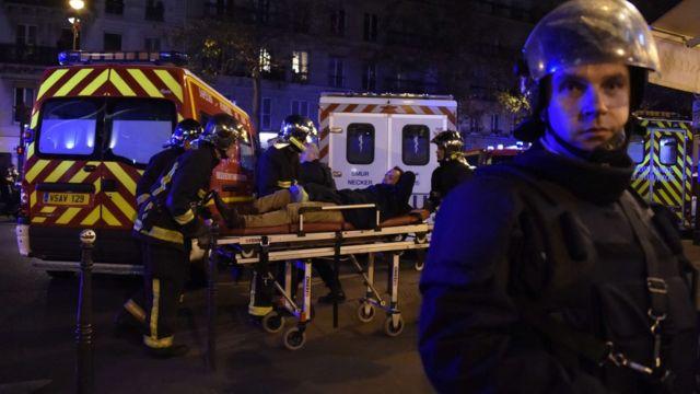 Paris attacks: Eyewitness accounts