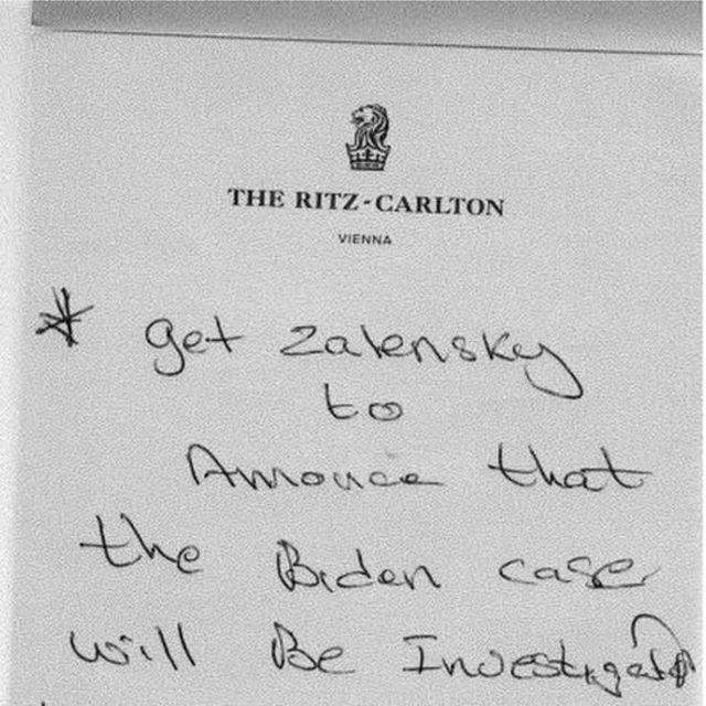 Handwritten note from Parnas