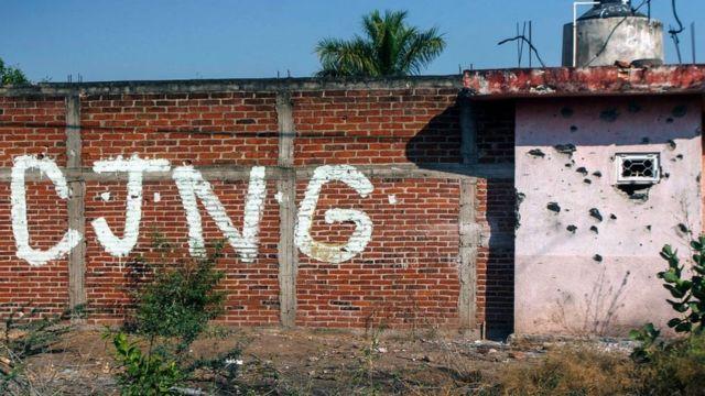Cartel del CJNG en Aguililla