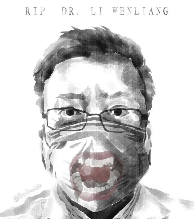 Li Wenliang alertó a sus compañeros sobre una nueva enfermedad y murió tras contraerla.