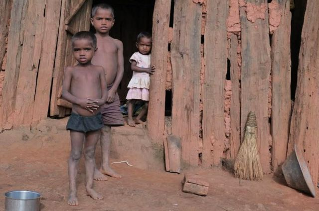 Compulsion to walk 30 km for ration