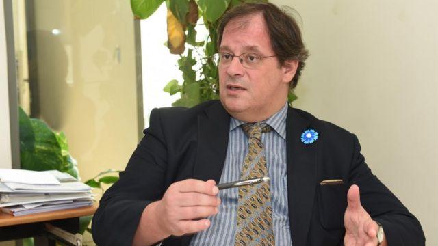 جيروم باكونان، المستشار الاقتصادي بالسفارة الفرنسية بالقاهرة