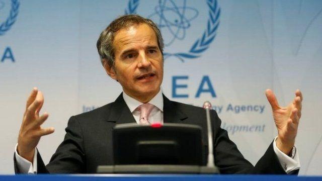 رافائل گروسی، مدیر کل آژانس بینالمللی انرژی اتمی خواهان همکاری فوری ایران در بازرسی از دو مرکز شد