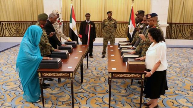 The Sovereignty Council of Sudan