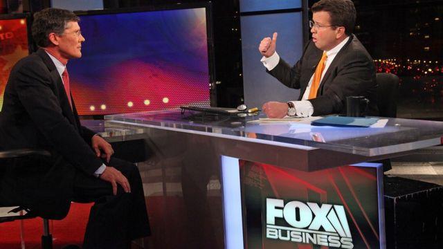 フォックス・ビジネス・ネットワーク(写真は2011年に放送されたインタビュー)はフォックスに残る
