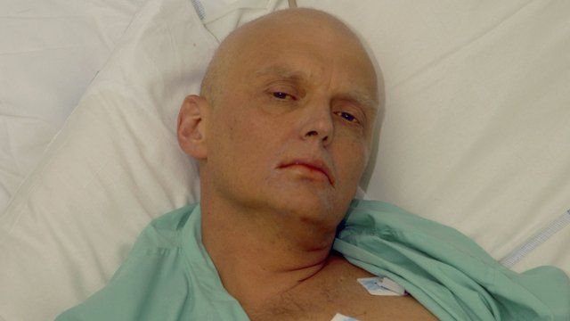 Ex-Russian spy Alexander Litvinenko