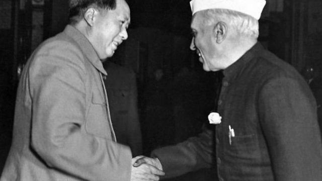 नेहरू और माओ