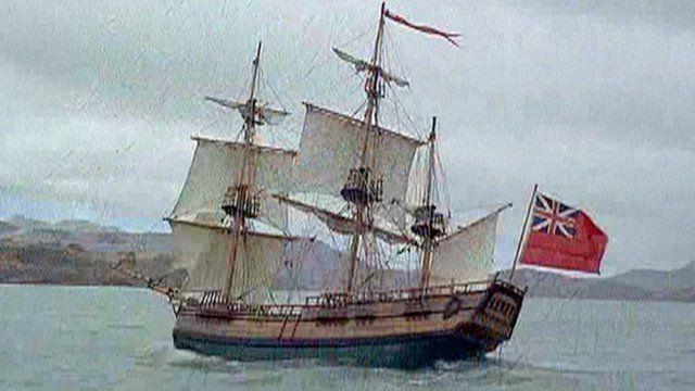 HMS Endeavour reconstruction