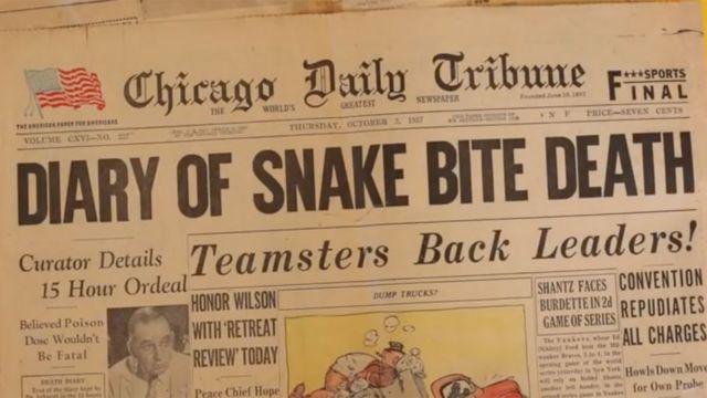 Chicago Daily Tribune del 3 de octubre de 1957.