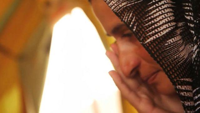A Yazidi woman