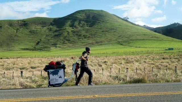 Tomica Kristić na putu za Novi Zeland