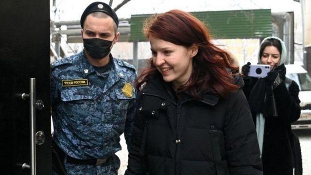 Navalni'nin sözcüsü Kira Yarmysh