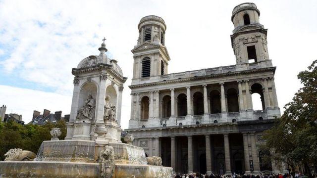Iglesia de San Sulpicio en París