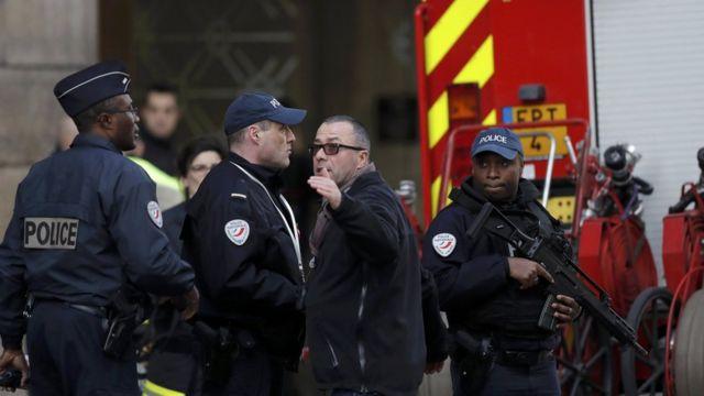 رجال الأمن الفرنسي