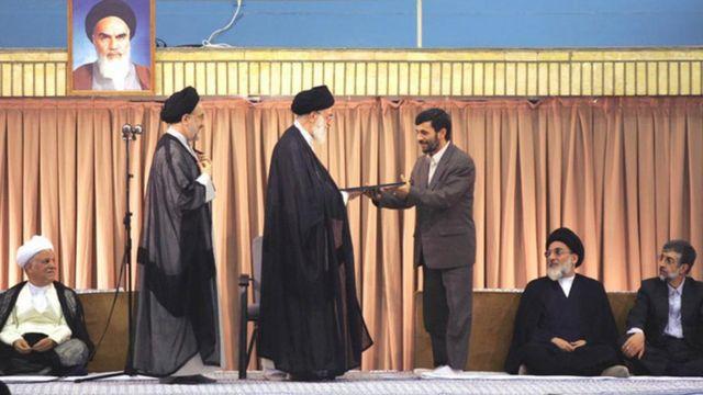 تنفیذ احمدینژاد در سال ۸۴