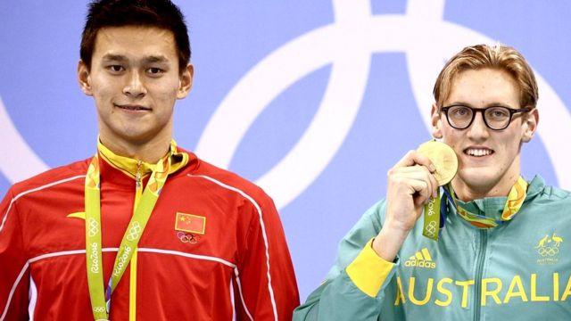 """Австралийский пловец Мак Хортон назвал своего китайского соперника Сунь Яна """"обманщиком, накачанным допингом"""""""