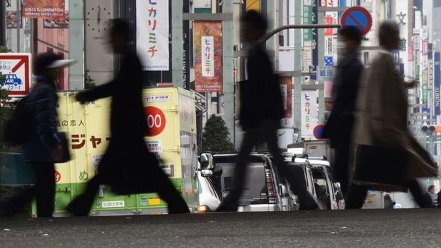 Las calles de Japón
