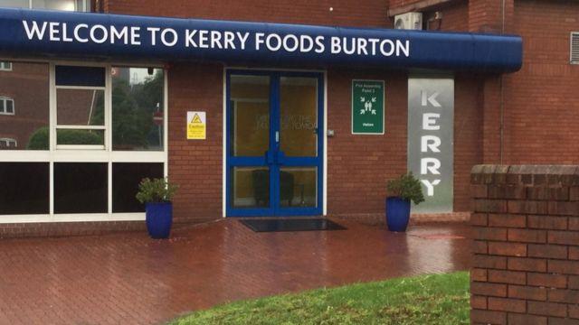 Burton-upon-Trent Kerry Food factory closure axes 900 jobs