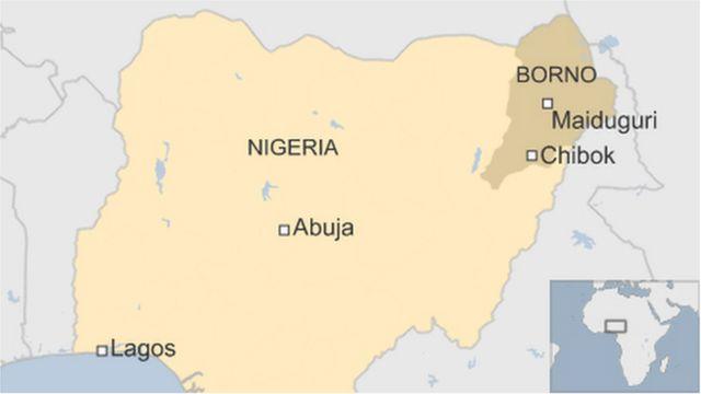 Les activités de Boko Haram se concentrent dans l'Etat de Borno, situé dans le nord-est du Nigeria.