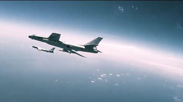 لقطة من الفيديو الترويجي للقوات الجوية لجيش التحرير الشعبي الصيني