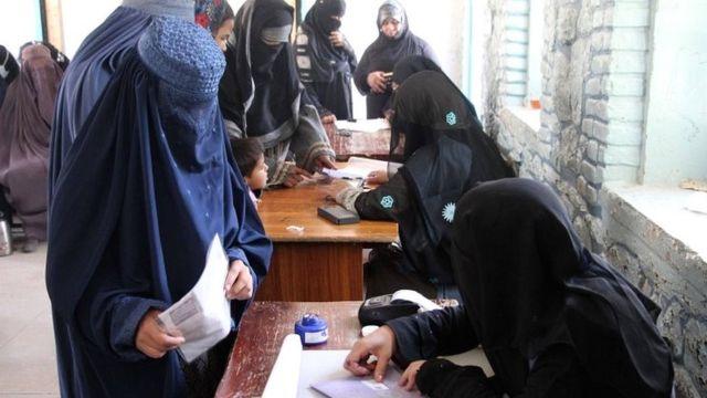 انتخابات پارلمانی در قندهار
