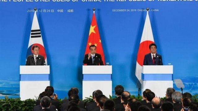 رهبران سه کشور