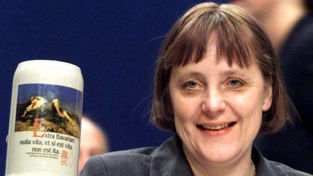 Merkel en 2000, cuando se convirtió en líder de la CDU