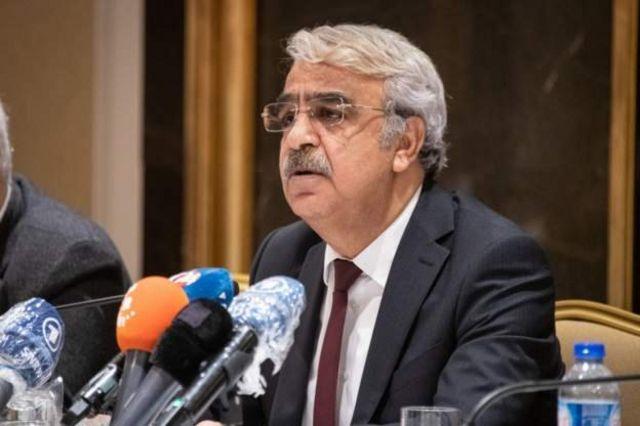 HDP Eş Genel Başkanı Mithat Sancar