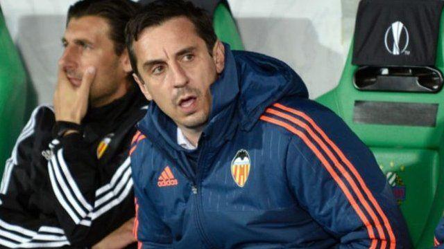 Neville yari yagenywe kuba umumenyereza wa Valencia mu kwezi kwa cumi na kabiri