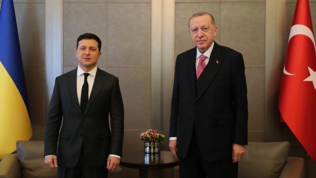 Zelensky İstanbul'da Erdoğan ile bir araya geldi