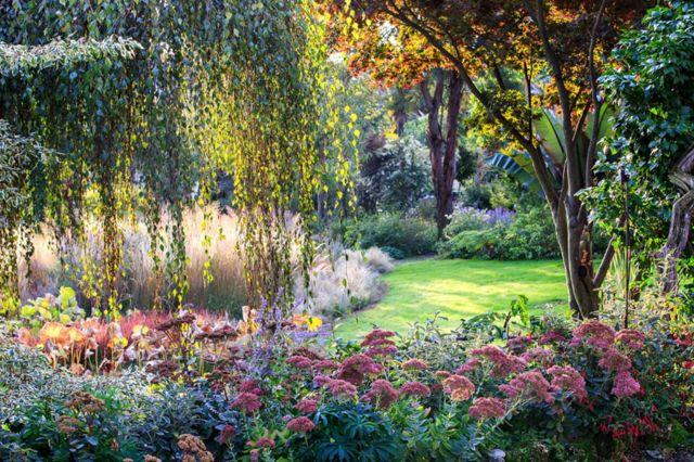 Ботанічний сад на Віллі Брікеразіо, П'ємонт, Італія