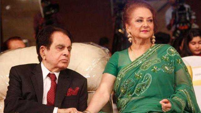 Dilip Kumar da matarsa Saira Banu
