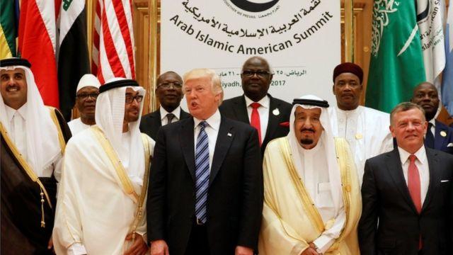 القمة الامريكية الاسلامية